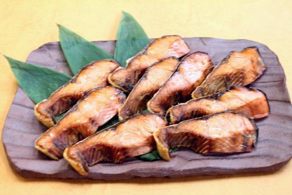 塩引鮭切身