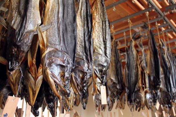 鮭の酒びたしは冬から夏に半年かけて出来上がります。