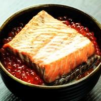 鮭の焼漬いくら丼