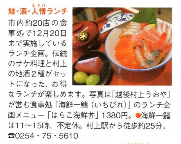 鮭・酒・人情ランチ 海鮮―鰭