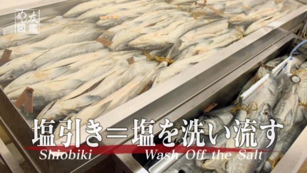 村上の鮭は塩をすり込むだけじゃなくて塩を抜くんです