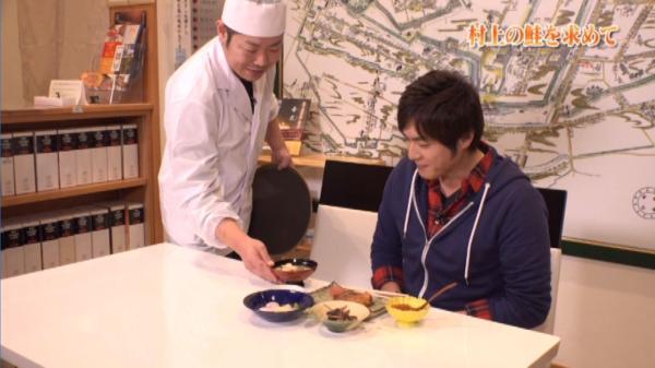 村上の鮭料理を振る舞ってくれたのはこの地に生まれ育ち板前として鮭料理を作り続けてきた佐藤さんです