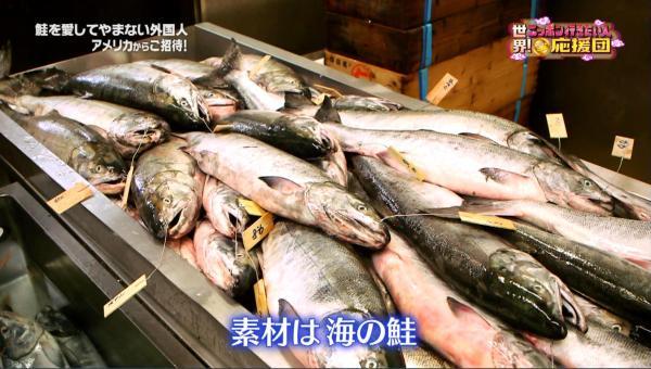 塩引鮭に使うのは川に登る前に海で脂を蓄えた白鮭のみ