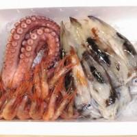 マイカ,たこ,アマエビ,岩牡蠣
