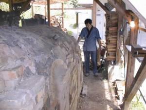 陶房やまや 登り釜と鈴木和弘