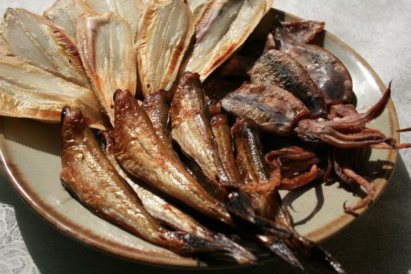 日本海干物セット ハタハタ10-16尾、柳かれい8-10尾、丸干しいか(150g)のセット