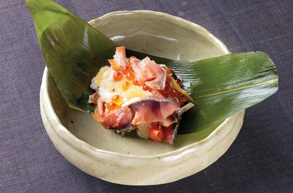 鮭を使った料理 鮭の飯寿司