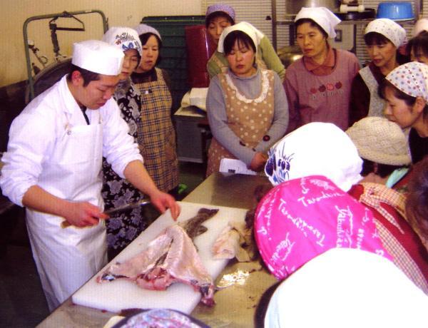 魚のさばきかた 講習会