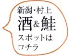 新潟村上 酒&鮭