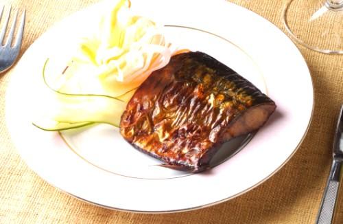 鯖(さば)醤油漬