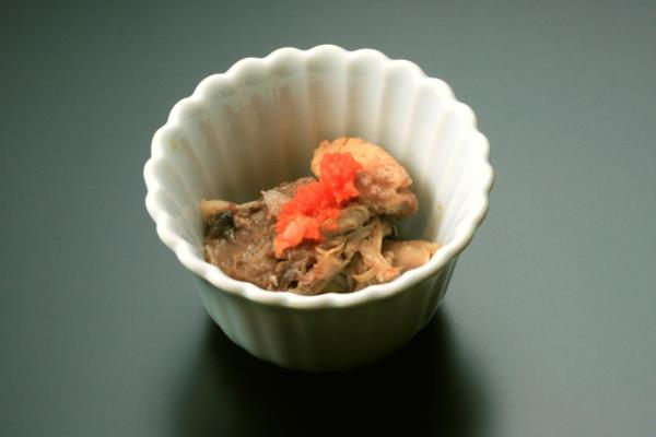 鮭のほほ肉ポンズ
