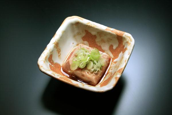 鮭の白子豆腐
