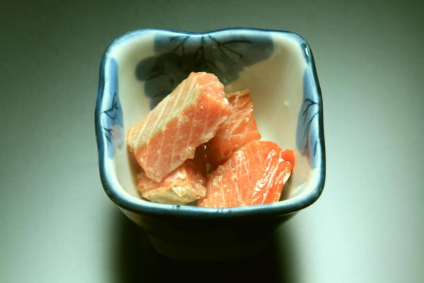 鮭の煮塩引き