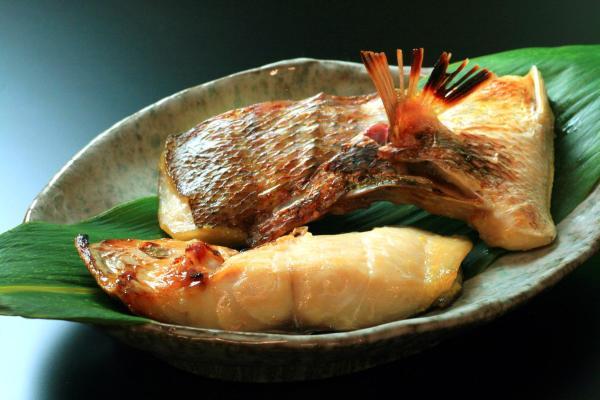 天然真鯛の西京漬