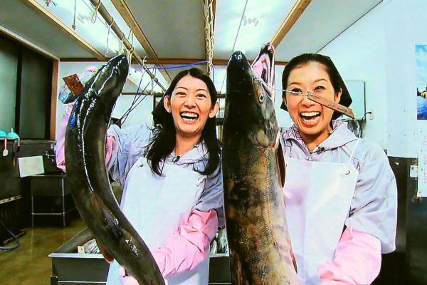 鮭こうばで塩引鮭作りに挑戦!