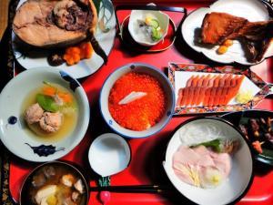 越後村上の鮭料理