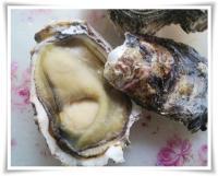 天然岩牡蠣 殻を予め開けてから蓋をして