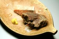 ゆで鮭と村上牛和風コンビーフ