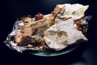 鮭の塩釜焼き