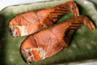 鮭物語(塩引鮭2切)
