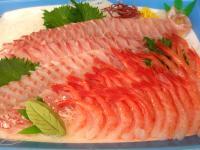 天然真鯛とあまえびの刺身セット