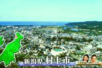 鮭のまちとしてその名を知られる村上市