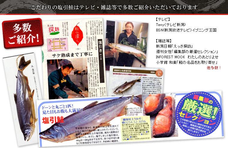 塩引鮭 ご紹介